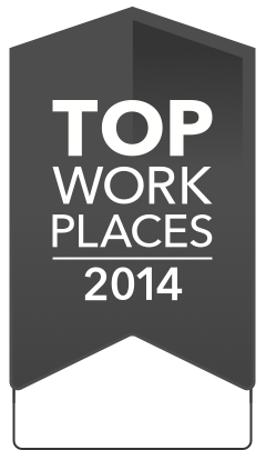 2014 Top Workplaces Winner