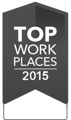 2015 Top Workplaces Winner