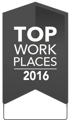 2016 Top Workplaces Winner