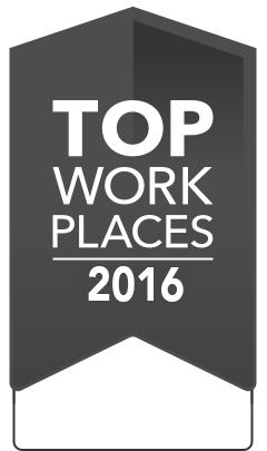 2016 Top Workplaces Winner