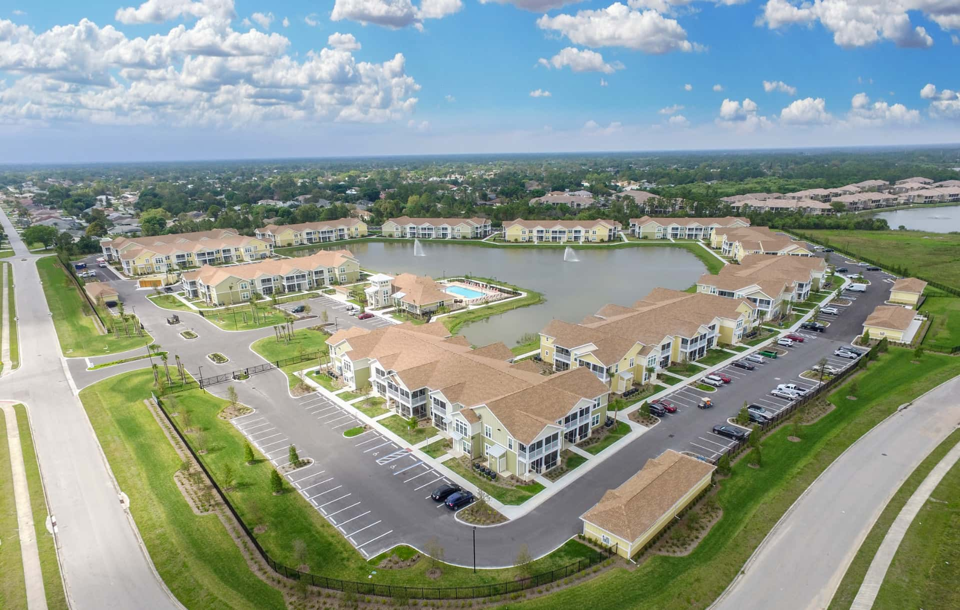 Continental Properties Investment Property Arial View