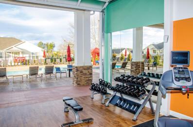 apartment fitness center