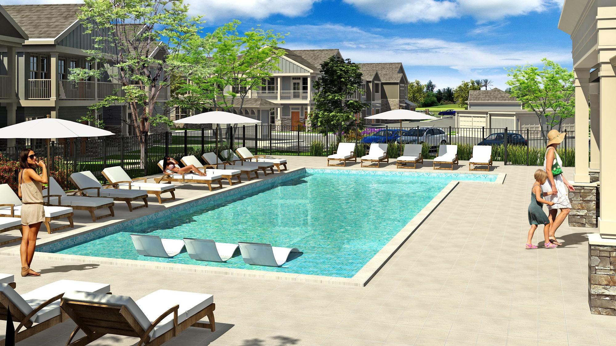 Springs at Cobblestone Lake | Resort Style Pool