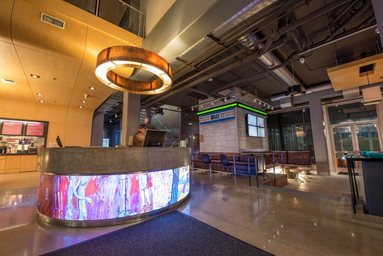 Aloft Chicago O'Hare Lobby