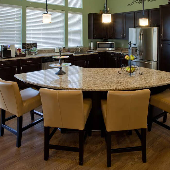Stone Oak Village Clubhouse Kitchen